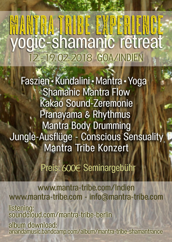Mantra Tribe Experience - Indien Retreat